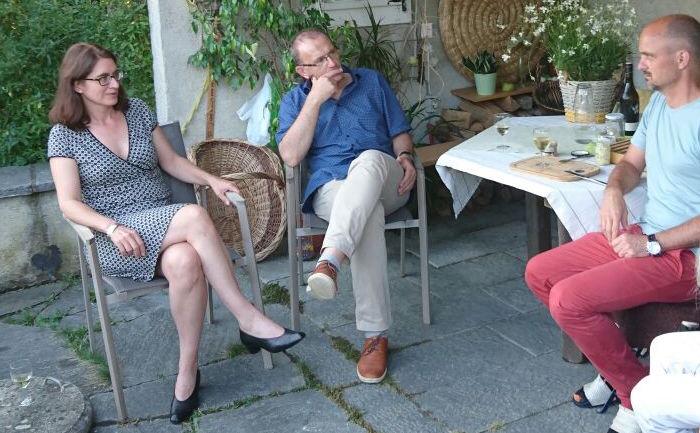 Literatur am Tisch mit Bettina Spoerri